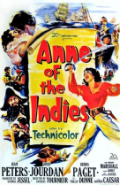Anne of the Indies 1951 DVD - Jean Peters / Louis Jourdan